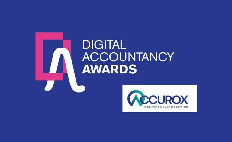 Accurox Shortlisted for Best Digital Accountancy Award!