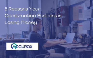 5 Reasons Your Construction Business is Losing Money