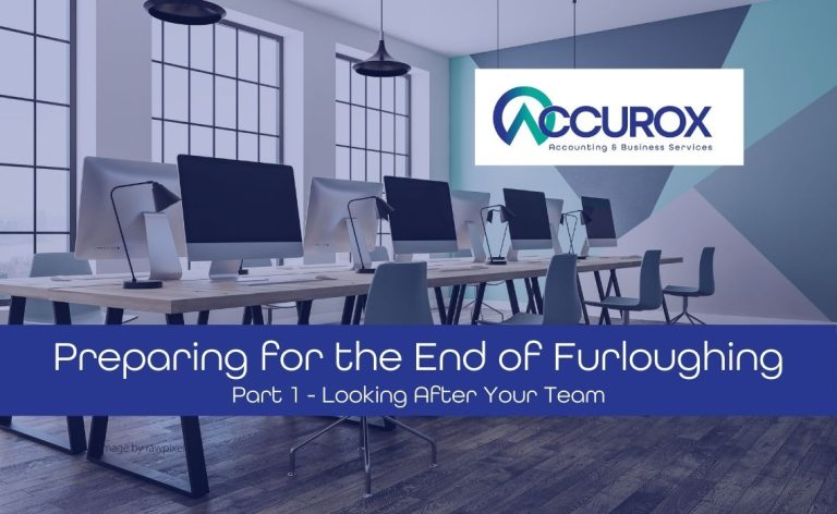Preparing for the End of Furloughing – Part 1