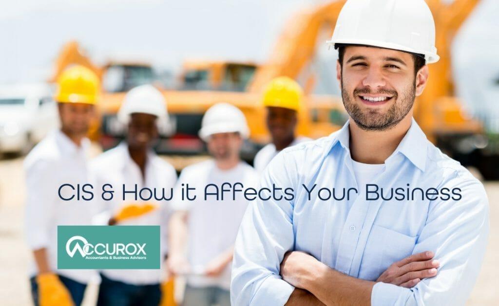 Construction Builder smiling at camera